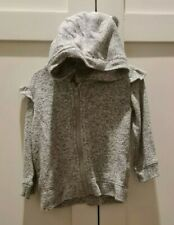 Baby Girl Zipped Cardigan Age 3-6 Months