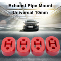 4 Red universal upgraded heavy duty exhaust rubber hanger support mounts UK