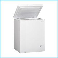 3.4 Cu Ft Deep Chest Freezer Food Storage Compact Fridge Water Drain White US