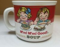 Vintage Campbell's Kids: Campbell Soup Mug Cup by Westwood 1989 - 14oz