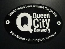 GRANITE CITY BREWERY red logo STICKER decal craft beer brewing