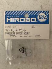 Vintage 0301-037 Hirobo RC Helicopter Spare Part Coreless Motor Mount Nip