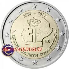 2 Euro Commémorative Belgique 2012 - Reine Elisabeth