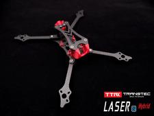 TRANSTEC LASER S FPV Quadcopter Frame 6mm ArmSmooth Coating Carbon Fiber Frame