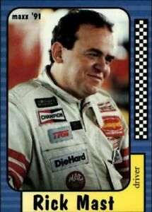 A2705- 1991 Maxx Auto Racing Cards 1-240 +Rookies -You Pick- 10+ FREE US SHIP