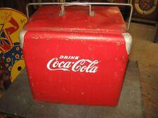 VINTAGE 1950's COCA-COLA COOLER--Progress Refrigerator Co.-ORIGINAL CONDITION