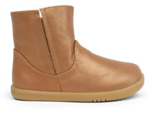 Bobux Childrens Girls Leather Shire Boot Caramel
