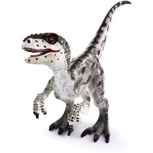 Velociraptor Jurassic Action Figure - Dinosaur Toy - Prehistoric Animal Model