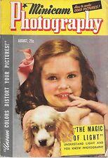 Minicam Photography--Aug. 1941-----158
