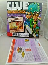 Clue Carnival The Case of the Missing Prizes Hasbro  Game  2009-FREE SHIPPING