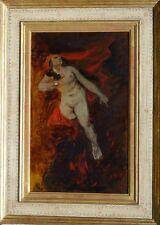 Hans Canon Viena alegoría bruja fiera Walpurgis revolución acto erotismo nude