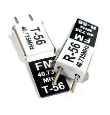 RC 40 MHz 40.735 FM Cristal TX & RX Receptor 40 MHz Negro canal 17