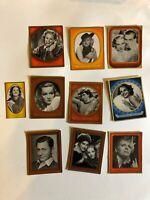 Gustav Fröhlich 1936 1937 Bunte Filmbilder Film Stars Cigarette Cards Lot of 10