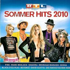 RTL SOMMERHITS 2010 - 2 CDs Neu Jason Derulo Silbermond Klee David Guetta Clueso