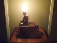 table lamp, upcycled Antique GPO telephone box