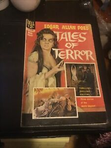 1962 Dell EDGAR ALLAN POE'S TALES OF TERROR horror movie comic ~ Vincent Price