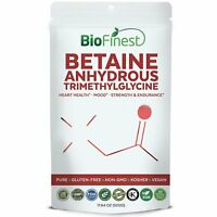 Biofinest Betaine Anhydrous Trimethylglycine (TMG) Powder 1500mg - Pure...