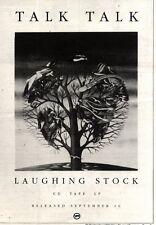 "21/9/91 Pgn07 TALK TALK : LAUGHING STOCK ALBUM ADVERT 10X7"""