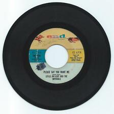 DOO WOP 45 LITTLE ANTHONY/IMPERIALS PLEASE SAY YOU WANT ME ON END VG ORIGINAL
