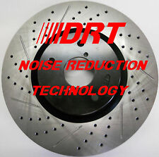 98-02 Town Car Performance Brake Rotors Noise Reduction Technology F+R