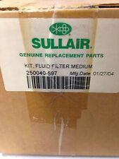 Sullair Medium Fluid Filter Kit 250040-597