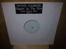 """PETER GABRIEL diggin' in the dirt  12"""" MAXI 45 T PROMO"""
