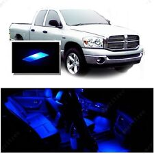 For Dodge Ram 1500 2002-2008 Blue LED Interior Kit + Blue License Light LED