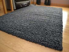 Soft Warm Shaggy Thick Plain Rug Non Shed 5cm Thick Pile Modern Rugs 60x110cm