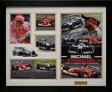 Michael Schumacher Signed Framed Memorabilia Limited Edition (w)