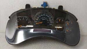 2002-2004 Chevrolet Trailblazer Speedometer Instrument Cluster Gauges 89904