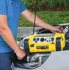 Jump Starter Inverter With Air Compressor Auto Battery Portable Power Station