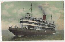Steamship Christopher Columbus Chicago Shipping Postcard B642