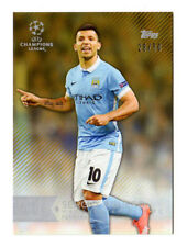 UEFA Champions League Manchester City Football Trading Cards