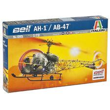 ITALERI hélicoptère AH.1/AB-47 095 1:72 AIRCRAFT MODEL KIT