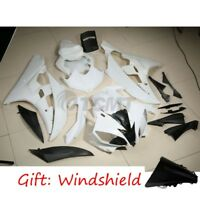 Unpainted White Injection Fairings Cowl Bodywork Kit For Yamaha YZF R6 2006 2007