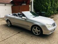 MERCADES-BENZ 320 CLK AVENTGARDE CONVERTBLE