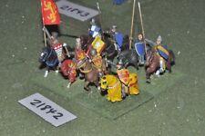 25mm Medievale/inglese-Men at arms 8 Fichi CAVALLERIA-CAV (21842)