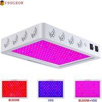 6000W V99GRO LED Grow Lights Dual Full Spectrum EVG Flower Enhance Plant Lamp TN