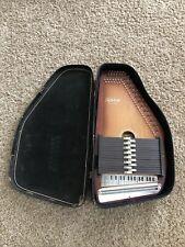 Oscar Schmidt Autoharp Model 15 EBH/R 15 Chord 36 String w/ Case, Pick, Wrench