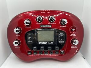 Line 6 Pod X3 Live Multi-Effects Guitar Effect Pedal - No Ac Adapter