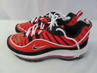 Nike Air Max 98 GS Habanero Red/White/Gold BV4872-601 Size 7Y NEW