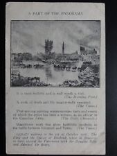 WW1 Panorama of The Battle on the YSER River c1926 Art by Alfred Bastien