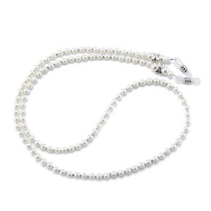 Eyeglass Chain Sunglasses Read Pearl Glasses Chain Holder Eyewear Rope Necklace