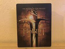 The Hobbit Trilogy (Blu-ray) Best Buy Exclusive Jumbo Steelbook *OUT OF PRINT*