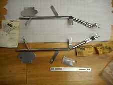 NOS Vintage AA Accurate Accessories Motorcycle Rack Mounting Brackets Honda CB