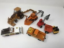 Bundle Of 6 Diecast Metal Model Construction Machinery Quality Pieces