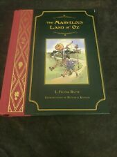 The Marvelous Land of OZ hardcover VG book