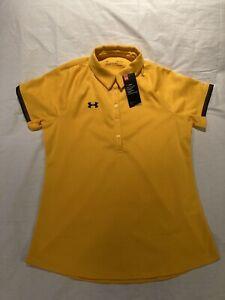 Women's Under Armour Heatgear Polo Golf Shirt, sz M, NWT! $40.00!