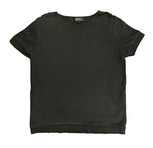 APC Mens T Shirt BLACK Size Medium