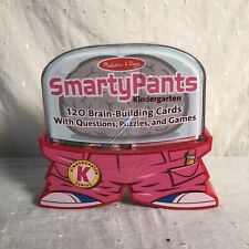 Melissa & Doug Smarty Pants Kindergarten Learning Puzzles Games Cards Set ~ New